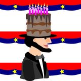 Lincoln's Birthday Stock Photography
