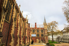 Lincoln's Inn Court in London UK. Lincoln's Inn Court in London, UK. Honourable Society of Lincoln's Inn is one of four Inns of Court in London, to which royalty free stock image