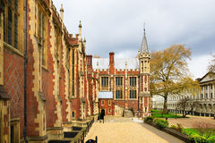 Lincoln's Inn Court in London UK. Lincoln's Inn Court in London, UK. Honourable Society of Lincoln's Inn is one of four Inns of Court in London, to which stock photography