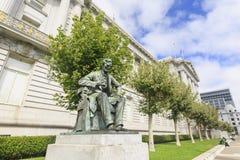 Lincoln at the San Francisco City Hall Stock Image
