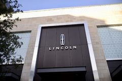 Lincoln silnika firma zdjęcia stock