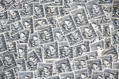 Lincoln Stamps Stock Photography