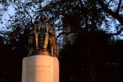 Lincoln Statue in Chicago royalty-vrije stock foto