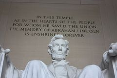 Lincoln Statue Royalty Free Stock Images