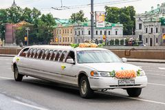 Lincoln Town Car stock afbeelding