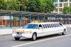 Lincoln Town Car Royaltyfria Bilder