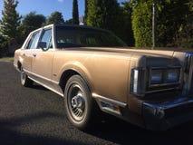 Lincoln Town Car 1981 imágenes de archivo libres de regalías