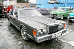 Lincoln Town Car Lizenzfreies Stockfoto