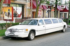 Lincoln Town Car Royalty Free Stock Photography