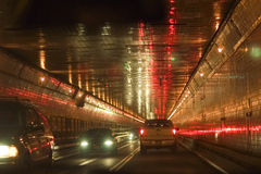 lincoln tunnel Arkivfoto