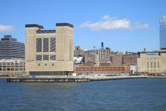 Lincoln Tunnel Ventilation Tower Royalty Free Stock Photos