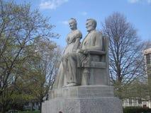 Lincoln und Mary Stockbild
