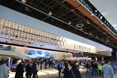 Lincoln Vehicles 2018 novo na exposição na feira automóvel internacional norte-americana Fotografia de Stock Royalty Free