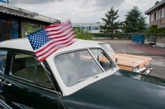 Lincoln, wagon-restaurant d'Américain de gué Image stock
