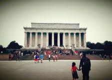 Lincoln& x27; monumento de s Imagenes de archivo