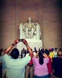 Lincoln& x27; monumento de s Foto de archivo libre de regalías