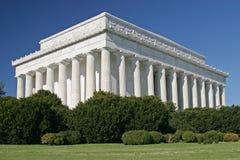 Lincolns Denkmal Stockbilder