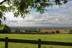 Lincolnshire Fens, UK Zdjęcie Royalty Free