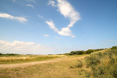 Lincolnshire-Landschaft Stockfoto