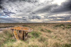 Lincolnshire Salt Marsh Royalty Free Stock Photography