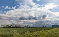 Lincolnshire wolds Zdjęcie Royalty Free