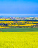 Lincolnshire wolds Zdjęcia Royalty Free