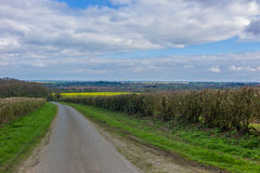 Lincolnshire Wolds Stock Image
