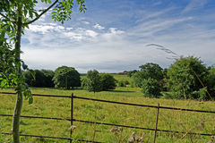 Lincolnshire Wolds, het UK Royalty-vrije Stock Afbeelding