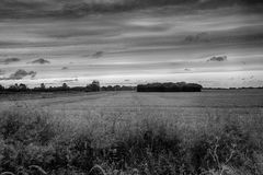 Lincolnshire wolds Royalty Free Stock Photo