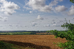 Lincolnshire Wolds,UK, in Late Summer Stock Photo