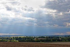 Lincolnshire Wolds,UK Stock Photos