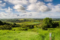 Lincolnshire Wolds Stock Images