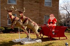 Lincolnwood Santa photos stock