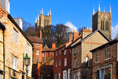 Lincon, Angleterre Image libre de droits