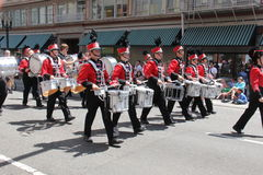 Lincon High School Marching band Royalty Free Stock Photo