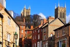 Lincon, Inglaterra Imagem de Stock Royalty Free