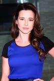 Linda Cardellini kommt im Brunch mit 2013 Film Inependent-Kandidaten an Stockfotos