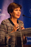 Linda Chavez White House Stock Image