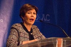Linda Chavez White House Stock Photo