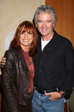 Linda Gray, Patrick Duffy Obraz Royalty Free