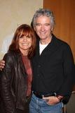 Linda Gray,Patrick Duffy Royalty Free Stock Photo