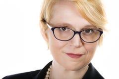 Linda Jeffries Head Shot Royalty-vrije Stock Afbeeldingen