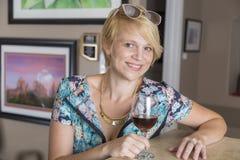 Linda Jeffries Head Shot Royalty-vrije Stock Afbeelding