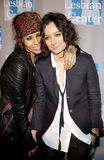 Linda Perry and Sara Gilbert Royalty Free Stock Image