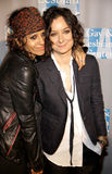 Linda Perry and Sara Gilbert Royalty Free Stock Images