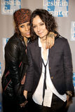 Linda Perry and Sara Gilbert Stock Photography