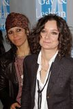 Linda Perry, Sara Gilbert at the L.A.Gay and Lesbian Center  Stock Photography