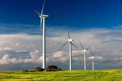 Linda turbinen Arkivbilder