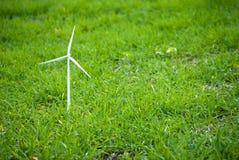 Linda turbinen på gräs royaltyfri bild