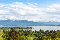 Lindau στη λίμνη Constance Στοκ φωτογραφία με δικαίωμα ελεύθερης χρήσης